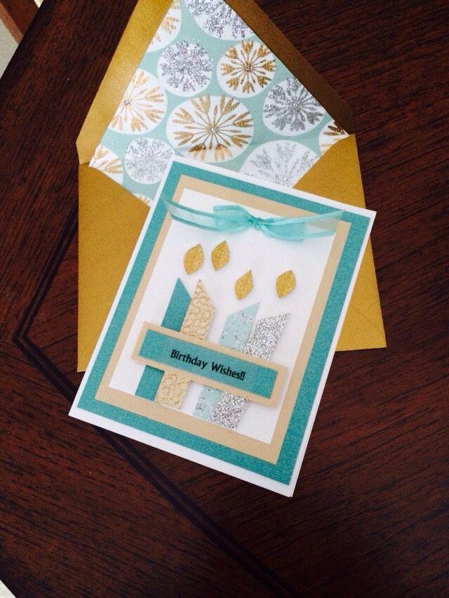 Birthday card inspiration!
