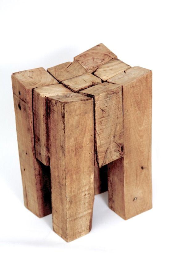 Les 17 meilleures id es de la cat gorie souches de bois - Fabriquer une table d appoint ...