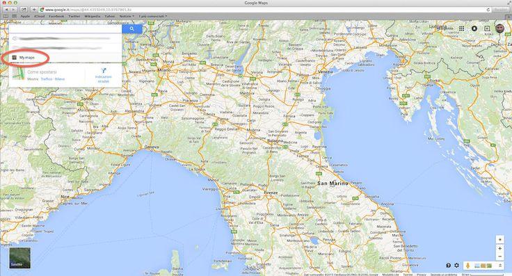 3 semplici step per avere le google maps senza attività concorrenti.