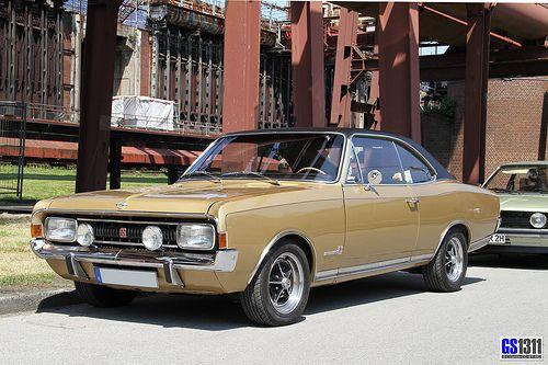 1967 Opel Commodore A GS
