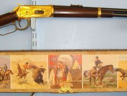 Winchester Yellow Boy Indian Saddle Carbine Lever Action Model 94 (1894) In .30-30   30-30  Rifles