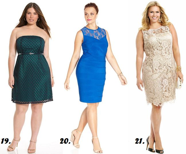 Shapely Chic Sheri - Curvy Fashion and Style Blog: 40 Plus-Sized Summer Wedding Guest Dresses