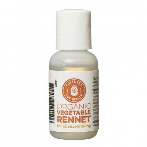 Cultures For Health Organic Liquid Vegetable Rennet - 30ml