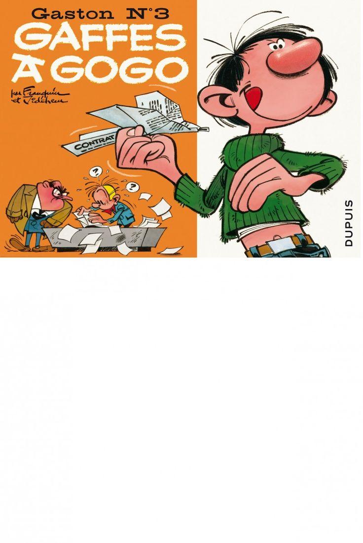 M'enfin ? Gaston Lagaffe par le génialissime Franquin.