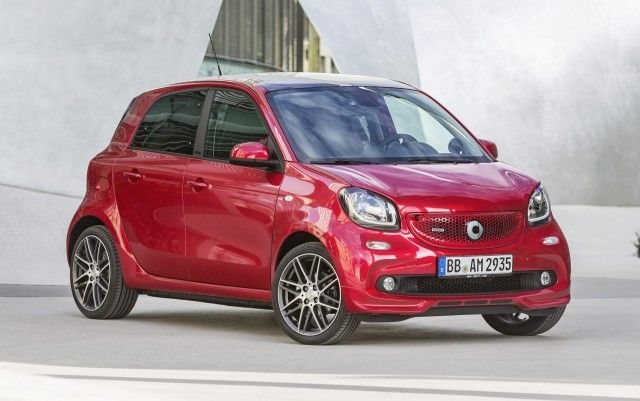 2018 Smart Forfour Brabus Specs and Release Date