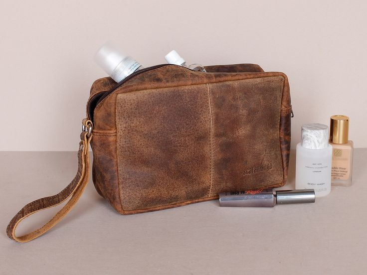 Leather Wash Bag https://www.scaramangashop.co.uk/item/1206/132/Gifts-For-Women/Leather-Wash-Bag.html