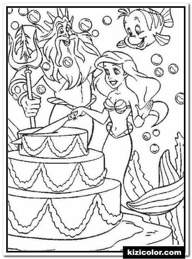 20 Happy Birthday Coloring Pages Free In 2020 Happy Birthday Coloring Pages Birthday Coloring Pages Disney Coloring Pages
