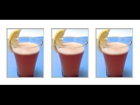 How to Make a Healthy Pear, Apple and Lemon Juice (HD)