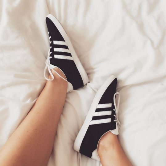 Comfort is key for exploring London, these Adidas Gazelles from Office Shoes are the perfect shoe choice. Shop the look by clicking on the pic!