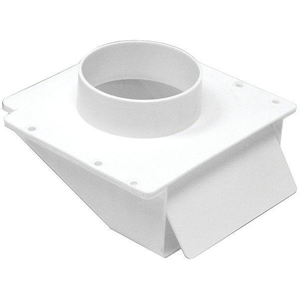 "4"" Plastic Under Eave Vent - LAMBRO - 143W"