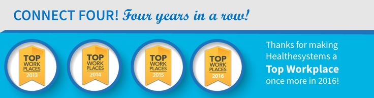 Tampa Bay Times Names Healthesystems a Top Workplace for Fourth Consecutive Year
