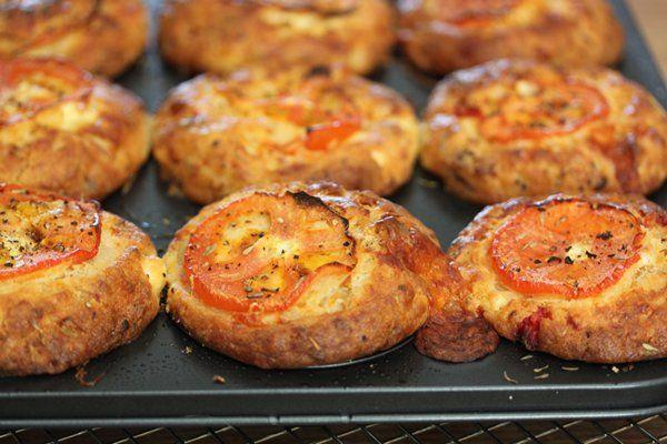 Vida e caffe inspired 3 cheese muffins