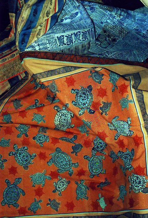 Screen printed table cloths
