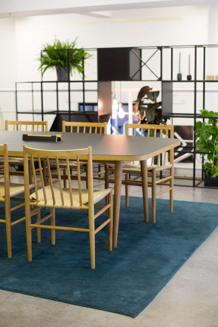 J80 Chairs, Forum Meeting tables and GRID system at Icons of Denmark Stand, Designjunction 2015