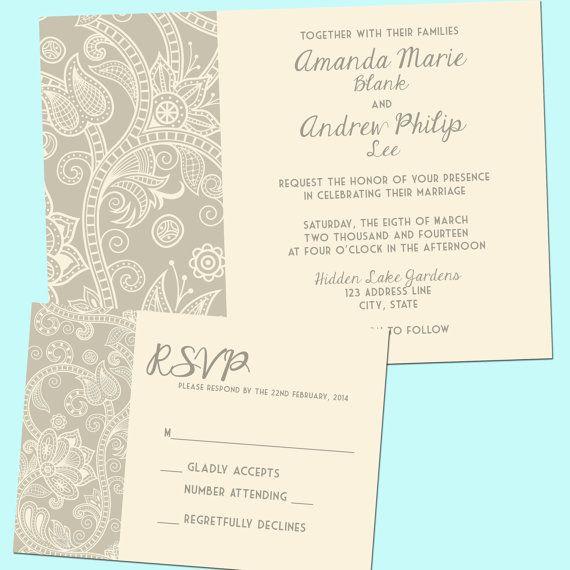 Dyi Wedding Invites with best invitation layout