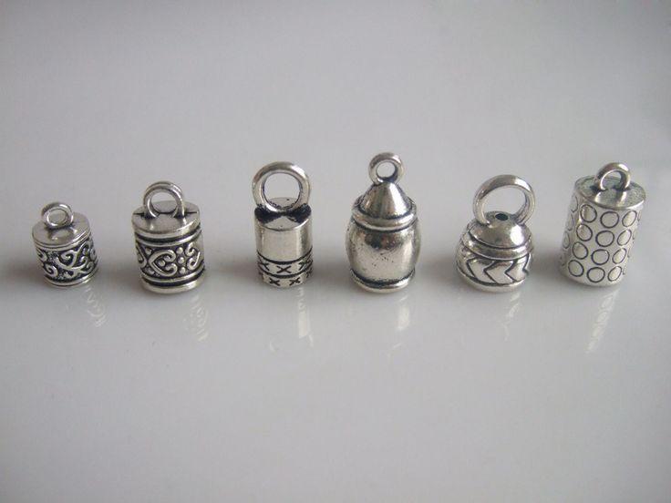 Ucuz 20 adet antika gümüş namlu ucu kapaklar boncuk tıpa kumihimo bilezik ve kolye takı bulgular yapma, Satın Kalite Takı Bulgular ve Bileşenleri doğrudan Çin Tedarikçilerden: 20 adet antika gümüş namlu ucu kapaklar boncuk tıpa kumihimo bilezik ve kolye takı bulgular yapma