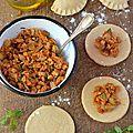 Empanadas épicés aux protéines de soja #vegan