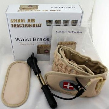 Physio Decompression Back Belt Pain Lower Lumbar Support.  It gives you support because of its clinical grade traction and decompression therapy. With this decompression belt you do not have to suffer from back pains. It gives the relief that you need. This decompression belt is light and you can wear the Decompression Back Belt underneath your clothing without anybody noticing it.  Price: $195.00…