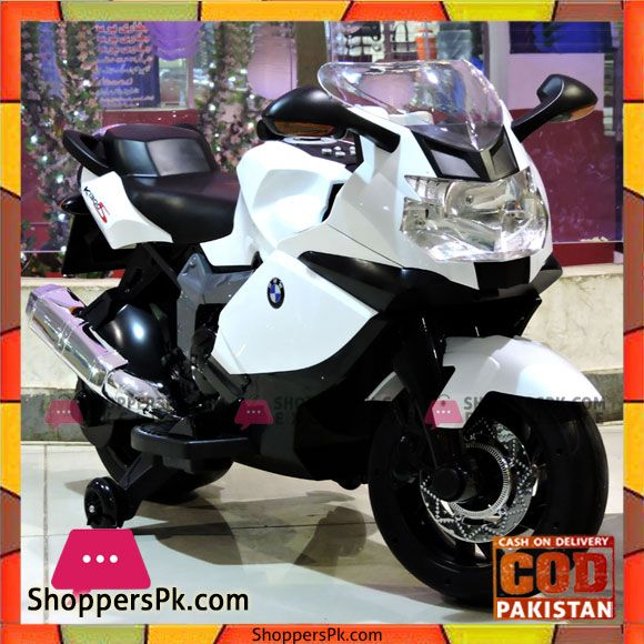 Buy Kids Ride On Bike 12v Bmw Officially Licensed K1300s Battery Operated At Best Price In Pakistan Kids Ride On Bike Bmw Bike
