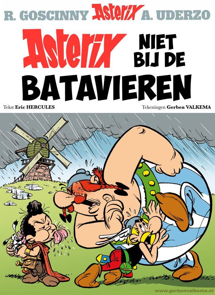 Asterix en de Batavieren - Fake cover