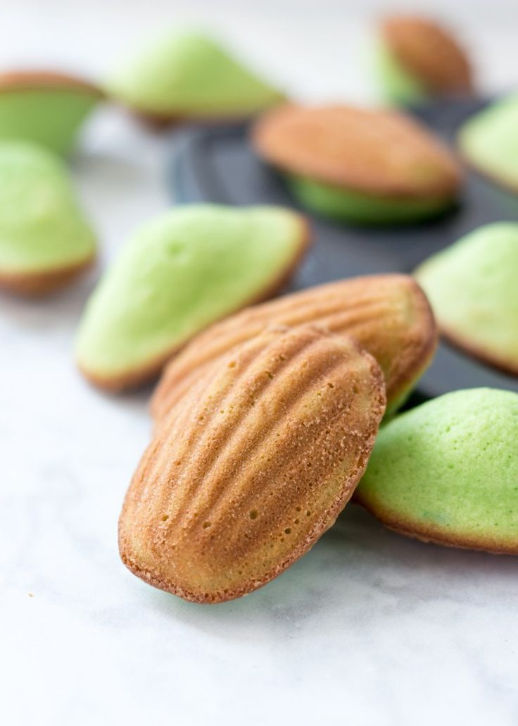 Last week I revisited my love for Ube with my Baked Ube Coconut Doughnuts, and now I'm introducing you to another flavor I love: Pandan! These Pandan Madeleines are rich, buttery, and absolutely delicious! They're a Southeast Asian twist on a French classic and I'm betting you're going to love them. For those of you who've