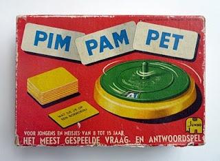 Pim Pam Pet - Zelf had ik super Pim Pam Pet. Vond het een geweldig spel!