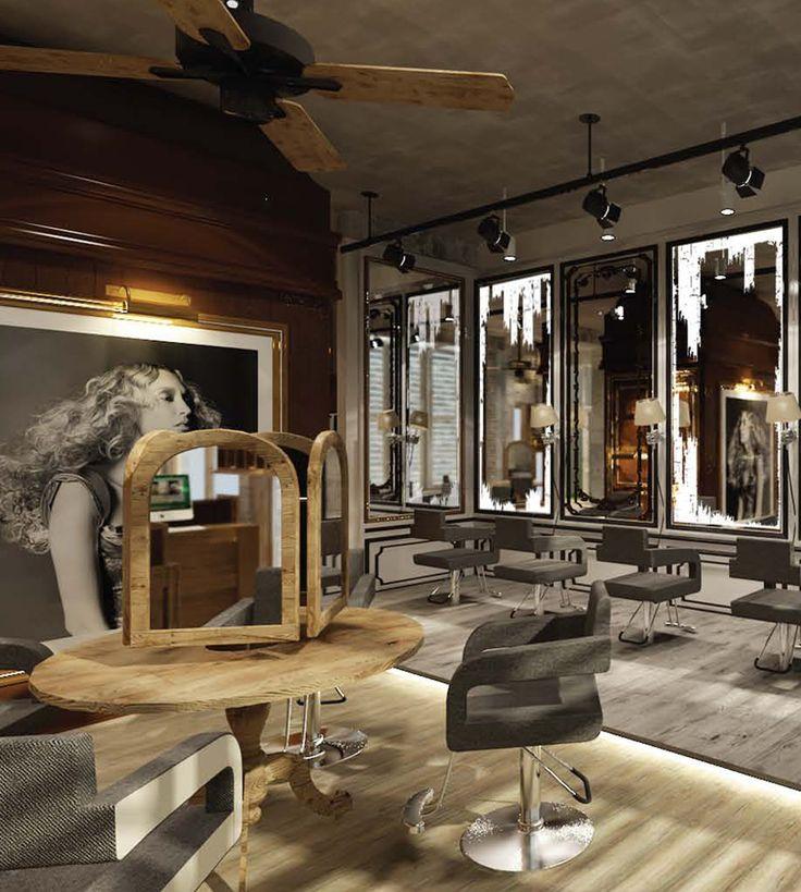 214 best salon de coiffure images on Pinterest | Hair salons, Saloon ...