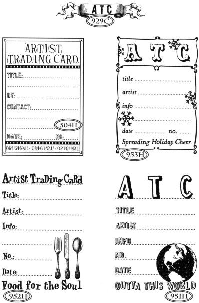trading card game template - free download