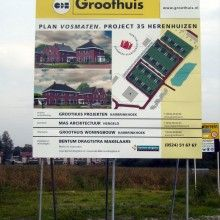 Groothuis #KoggelReclame #Bouwbord #Staal