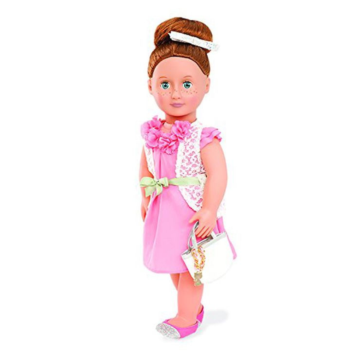 This Our Generation clothes set is perfect for any occasion. Your Our Generation doll might like to wear this on a shopping trip with friends or a family trip to the movies.