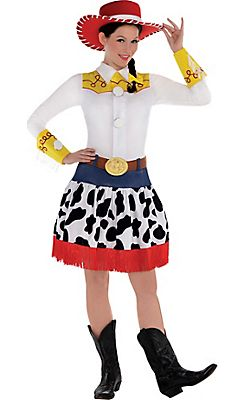 adult jessie costume deluxe toy story - Accessories For Halloween Costumes