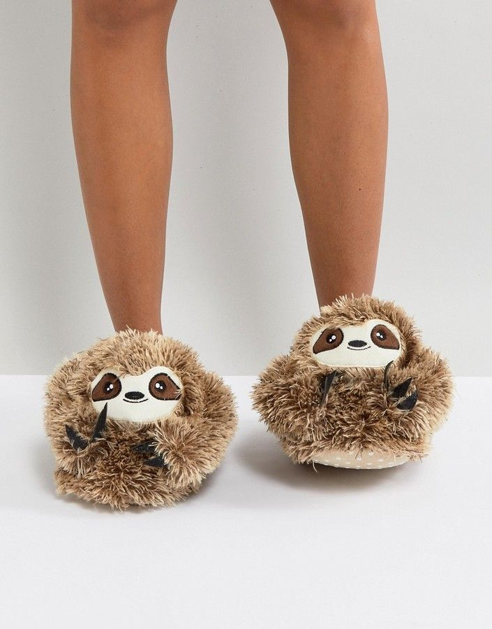 New Look Sloth Slipper