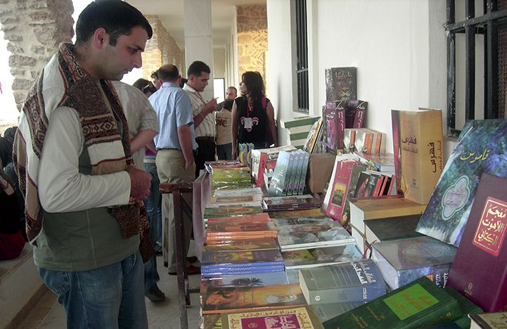 In spite of the civil war that is raging in Syria, Bible Society has continued its work there with its bookshops in Aleppo and Damascus remaining open.