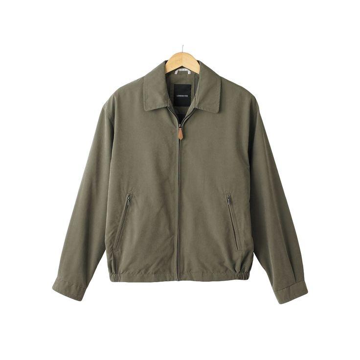 Big & Tall Towne by London Fog Microfiber Golf Jacket, Men's, Size: Xl Tall, Green