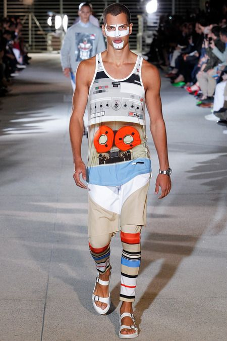 Givenchy Spring 2014 Menswear Collection Slideshow on Style.com