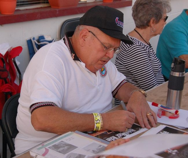 """Haskell """"Hack"""" McKee--Racers Reunion Kingsport Speedway,The Johnson City Press Online 2015"""