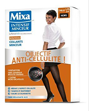 MIXA Intensif Minceur Collants Objectif Anti-Cellulite Taille 3-4