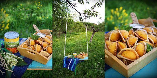 "Angel's food: Desert dulce de vara~Prajiturele ""Zambet cu piersi..."