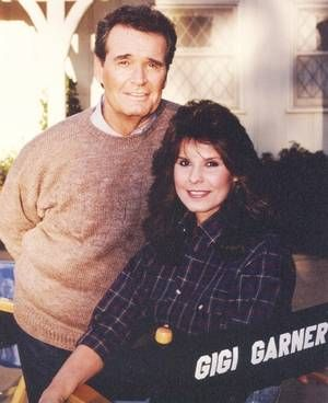 James Garner and Daughter Gigi Garner