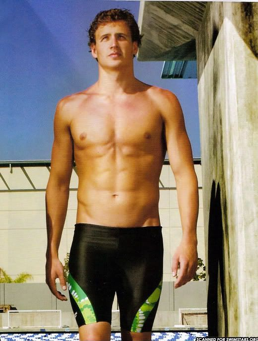 Ryan Lochte, Olympic swimmer.