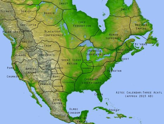 """If Europeans had never """"discovered"""" America"""