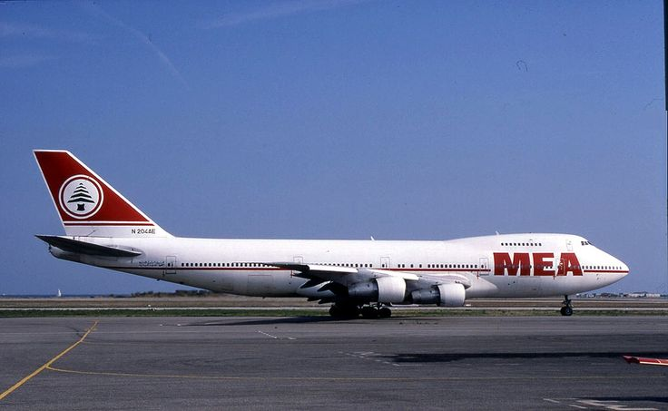 Middle East Airlines. The national carrier of Lebanon.