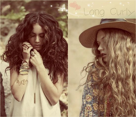 12 best curly hair extensions images on pinterest thin hair 8 hot hairstyles you can try at home in autumn 2013 brown curly hairlong pmusecretfo Gallery
