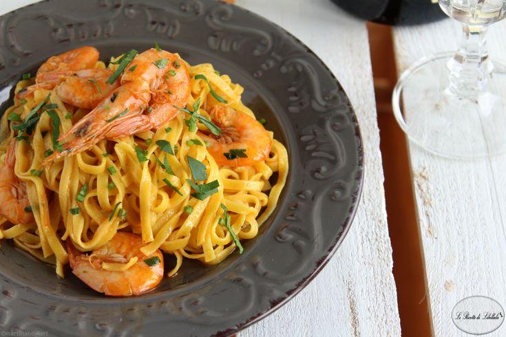 Tagliatelle+con+gamberi+al+curry