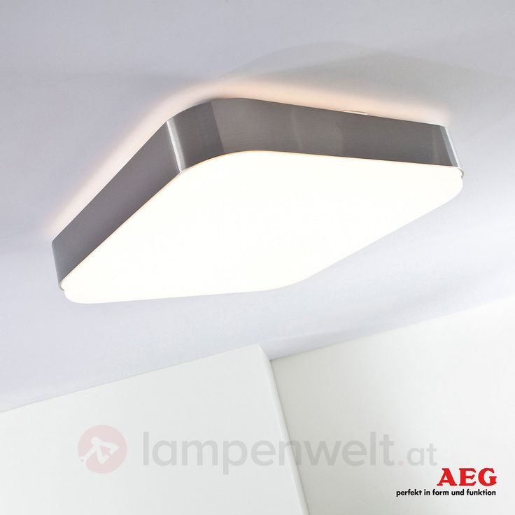 Eckige LED-Deckenleuchte LED-Square I von AEG, ww 3057006