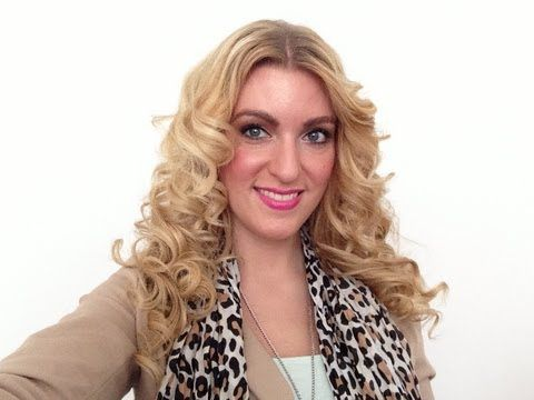 Krullen met Chi stijltang Linda Harmsen - YouTube
