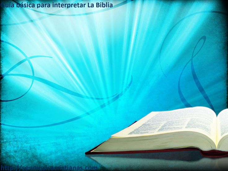 GUIA BASICA PARA INTERPRETAR LA BIBLIA