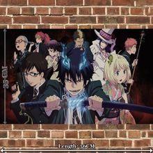 Doek Poster voor Anime ANBE049 Ao geen blauwe exorcist muursticker breedte 35 cm…
