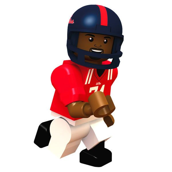 Michael Oher Ole Miss Rebels OYO Sports College Minifigure
