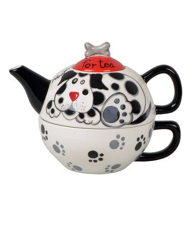 Take a look at this Paws for Tea Dog Tea for One Set by Coffee & Tea Collection on #zulily today!